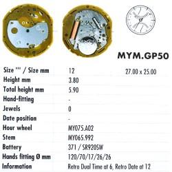MIYOTA GP50