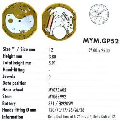 MIYOTA GP52