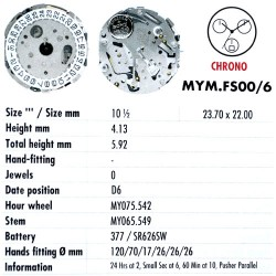 MIYOTA FS00 - 6
