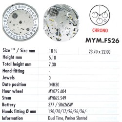 MIYOTA FS26