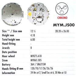 MIYOTA JS00