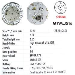 MIYOTA JS16