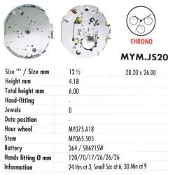 MIYOTA JS20