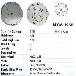 MIYOTA JS50