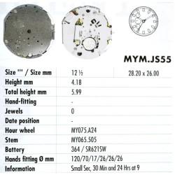 MIYOTA JS55