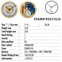 ETA.955112-D6