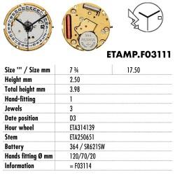 ETA.F03111