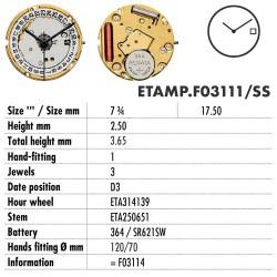 ETA.F03111-SS