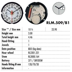 RONDA 509-BIG DATE