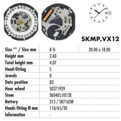 HATTORY VX12