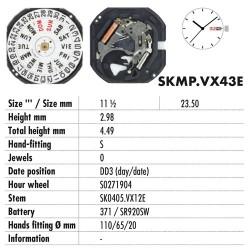 HATTORY VX43E