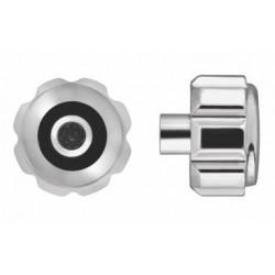 Horotec srebrna krunica sa kraćim navojem Ø 3.50 / ØT 1.80 / ØTAP. 0.90 mm