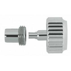 Horotec srebrna krunica sa tubom Ø 7.00 / ØM 4.00 / ØT 2.70 / ØTAP. 0.90 mm